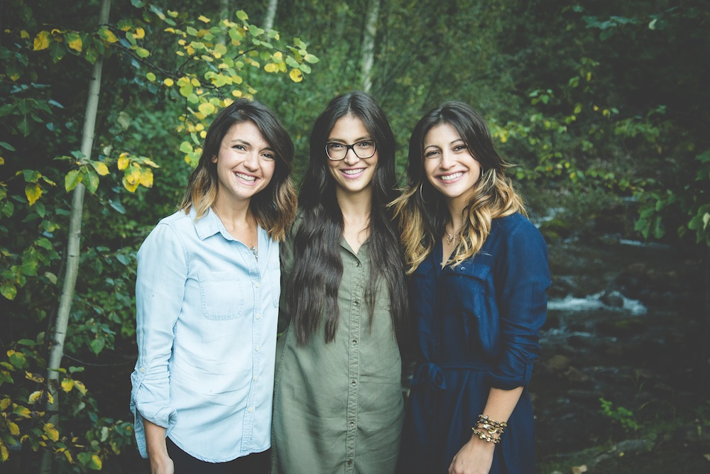 three-brunette-sisters-denim-shirts-sisters