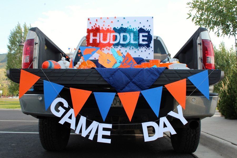 game-day-banner-orange-and-blue-pennant-flag-banner-bronco-tailgate-party-diy-paper-decor-huddle-sign
