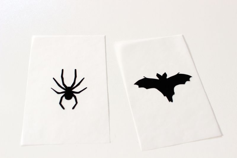 halloween-black-silhouettes-on-vellum-paper-bat-spider