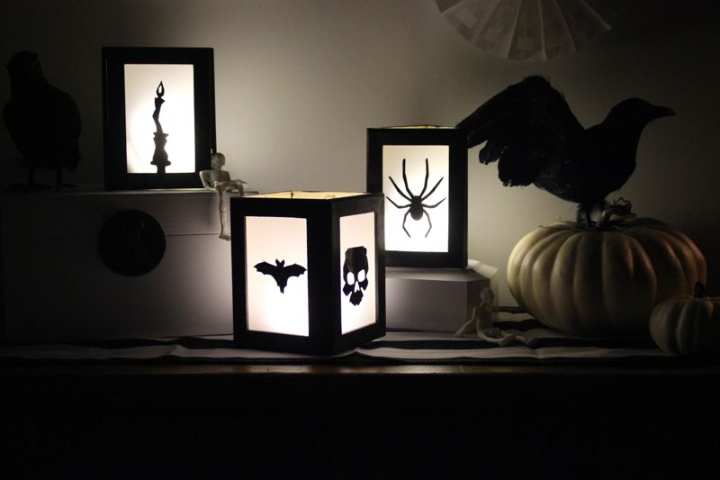 diy-halloween-lanterns-bat-and-candle-silhouette