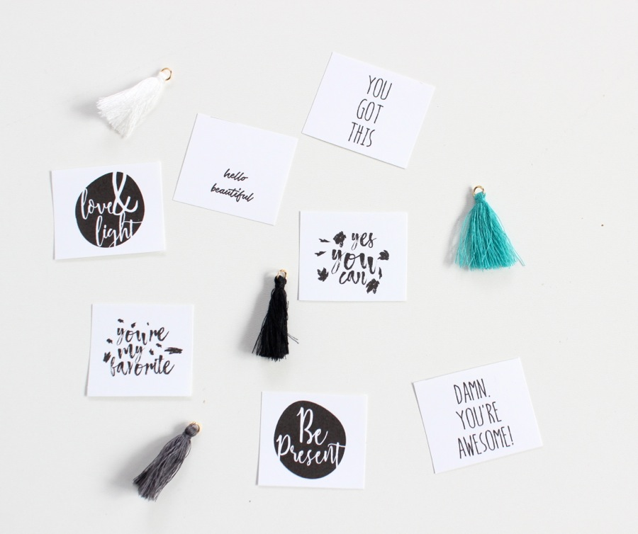 black-and-white-cards-hello-beautiful-yes-you-can-your-awesome
