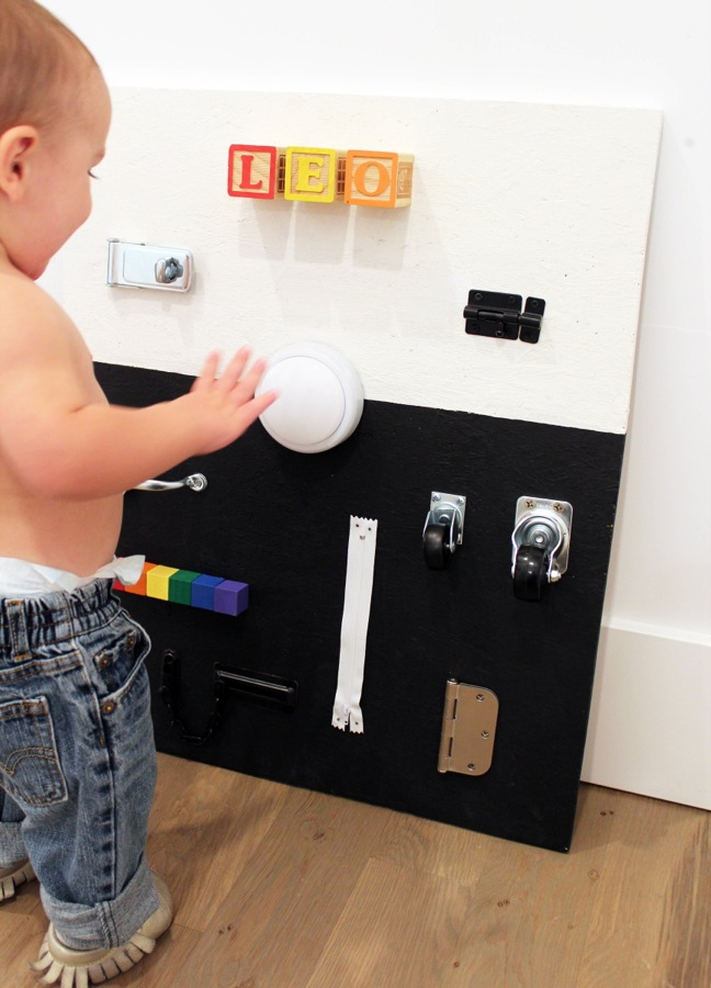 diy-black-and-white-busy-board-for-toddlers