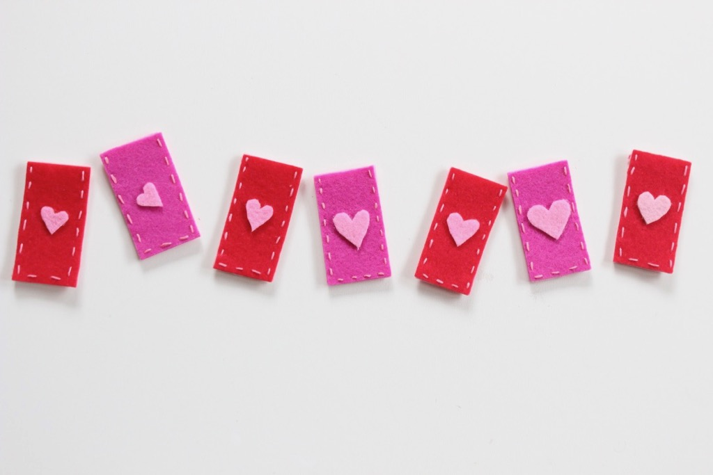 red-pink-felt-with-pink-hearts