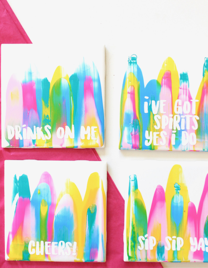 colorful-paint-scrape-coasters-cheers-sip-sip-yay