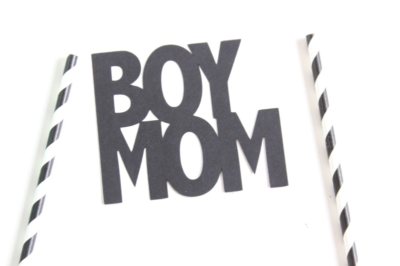 black-paper-boy-mom-black-white-striped-straws