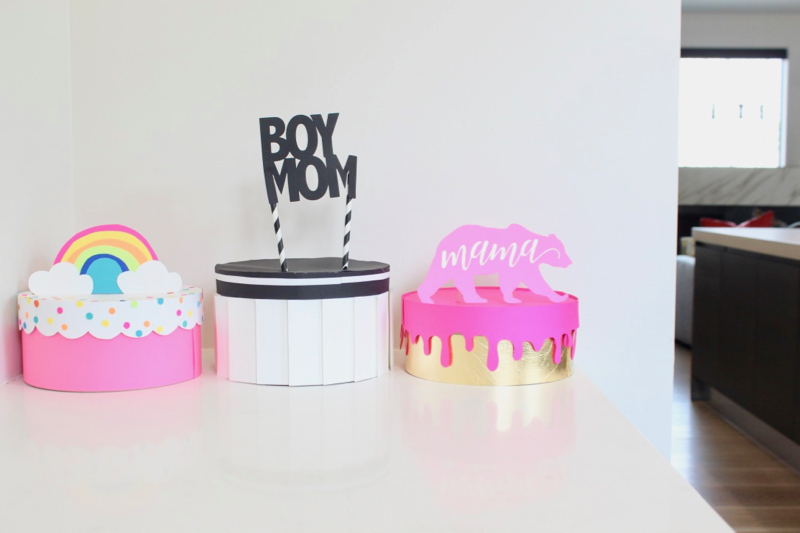boy-mom-black-and-white-paper-cake-mama-bear-rainbow-cake