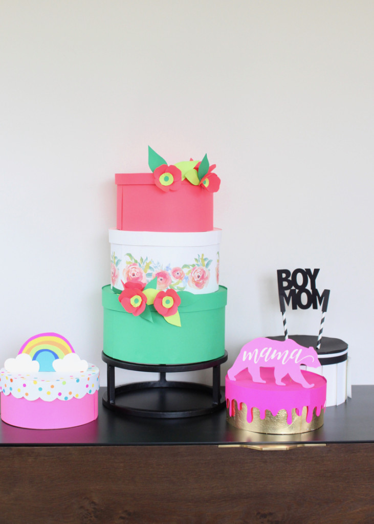 diy-paper-cakes-boy-mom-paper-flowers-rainbow-cake