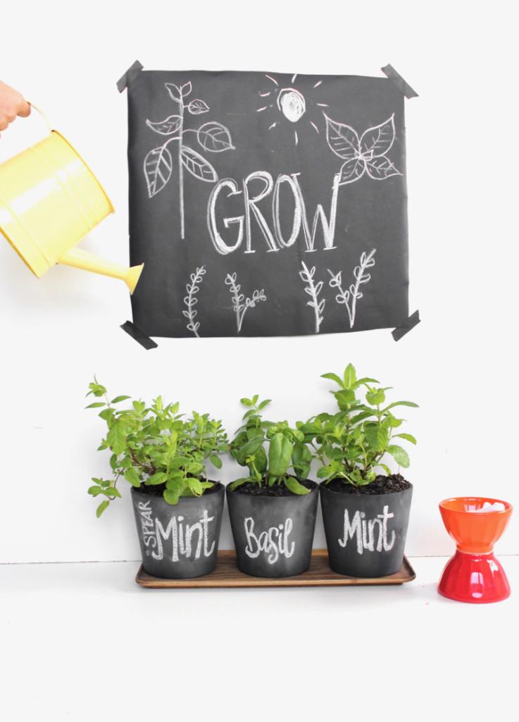 basil-mint-diy-chalkboard-pots