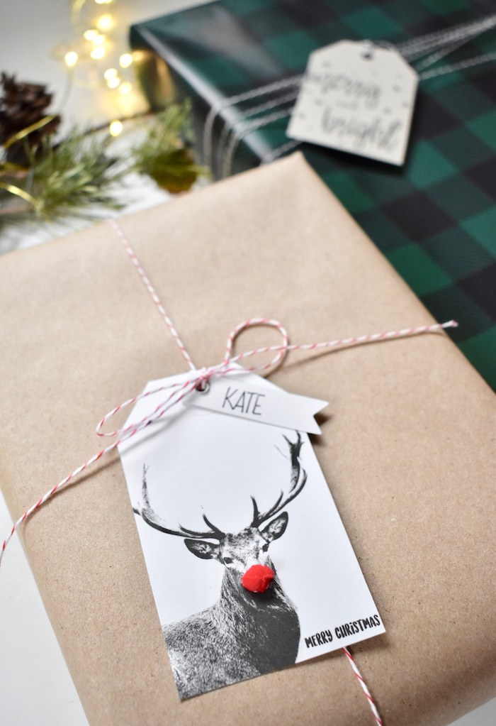 diy-modern-rudolph-gift-wrap