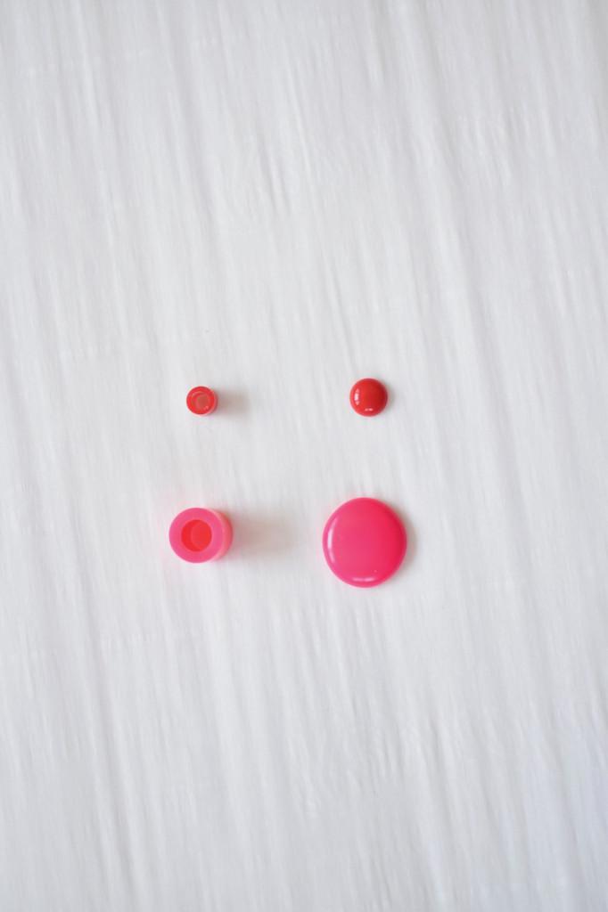 DIY perler bead earrings
