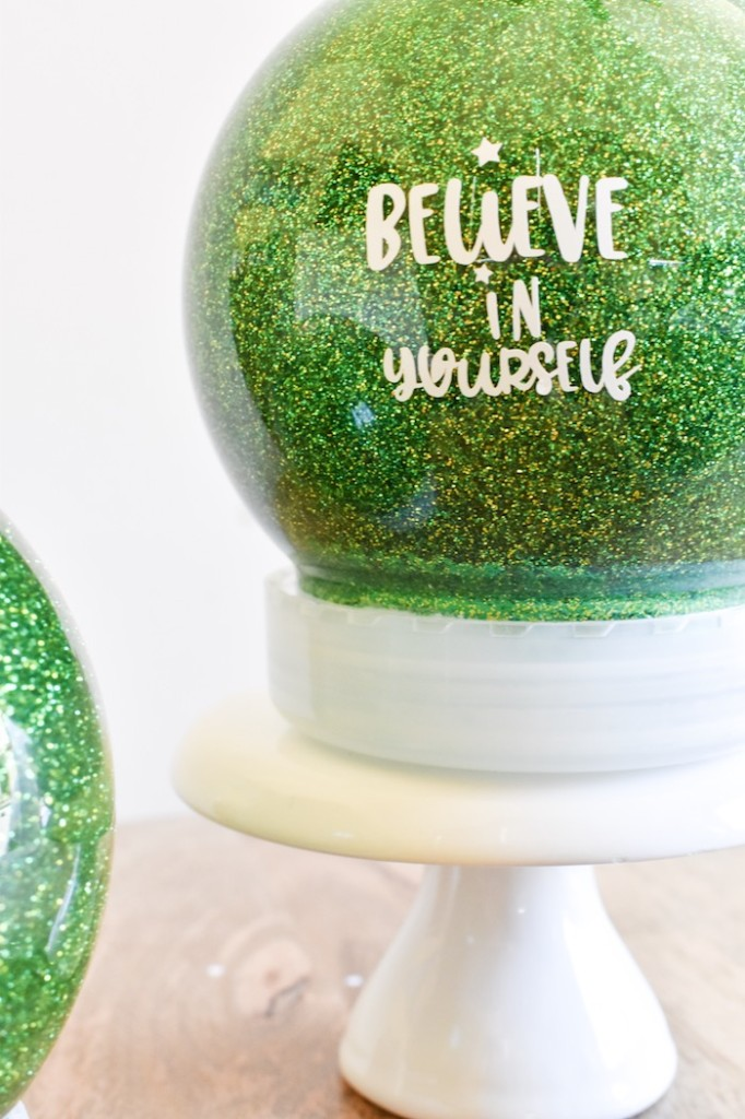 DIY glitter globe-holiday-craft-and-tween-gift