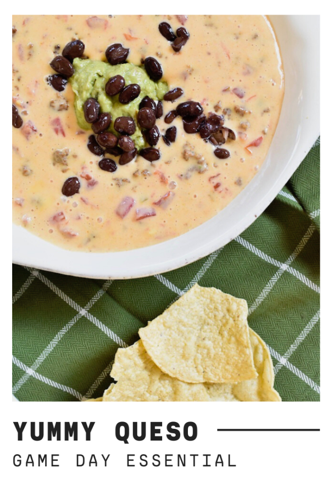 queso dip for super bowl sunday