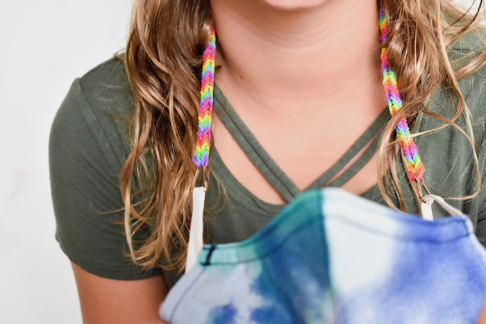 diy mask lanyard for kids