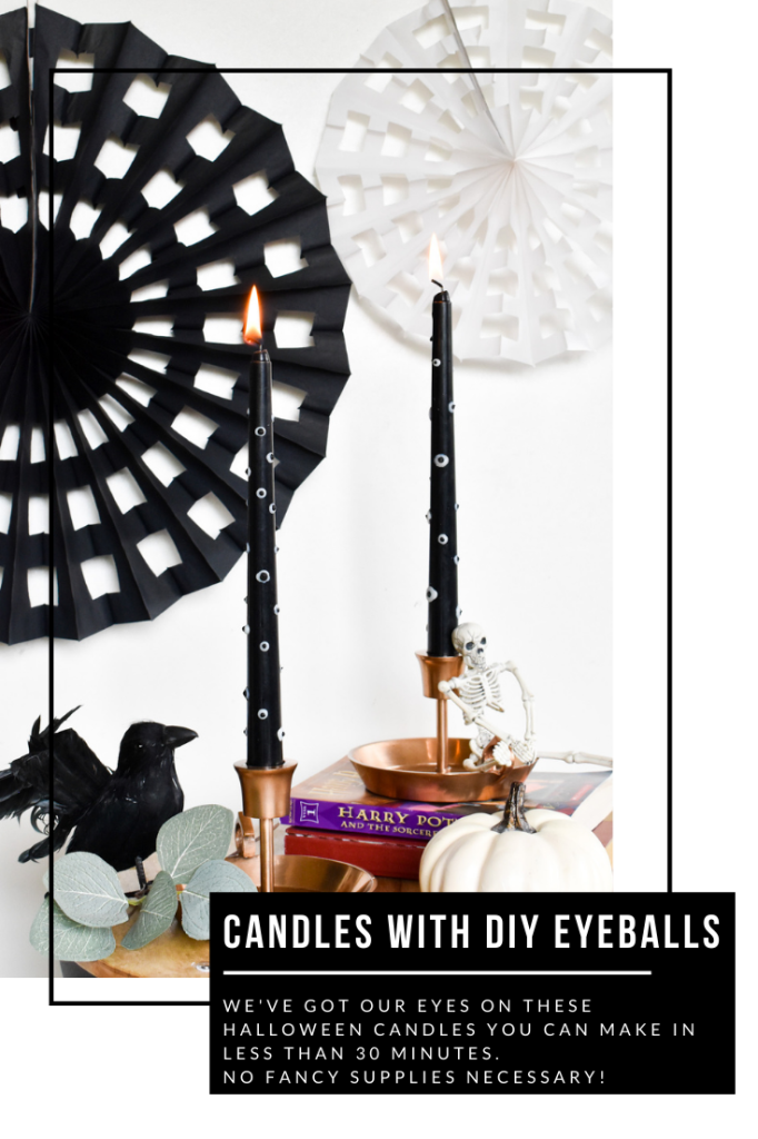 DIY eyeball candles