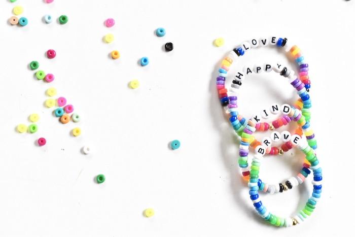 diy perler bead bracelet