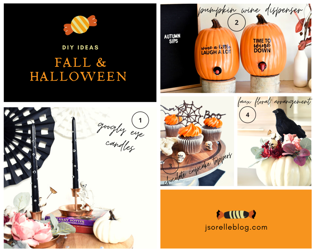 halloween and fall DIY crafts-pumpkin wine dispenser