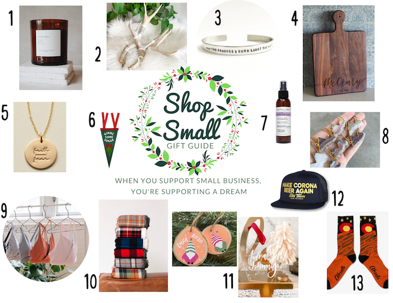 shop small cancer gift guide