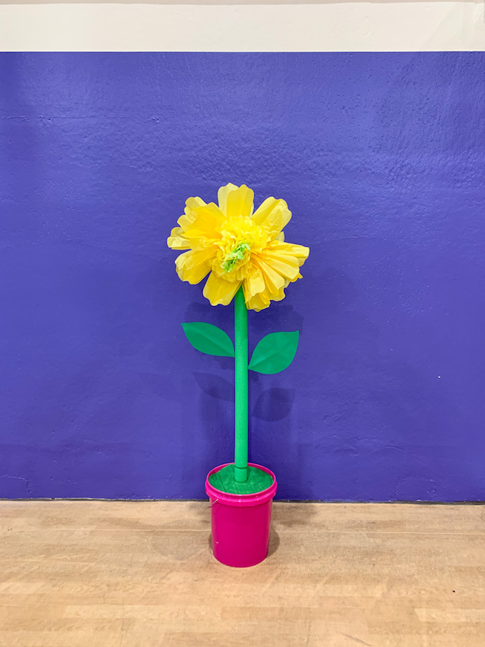 giant DIY flower