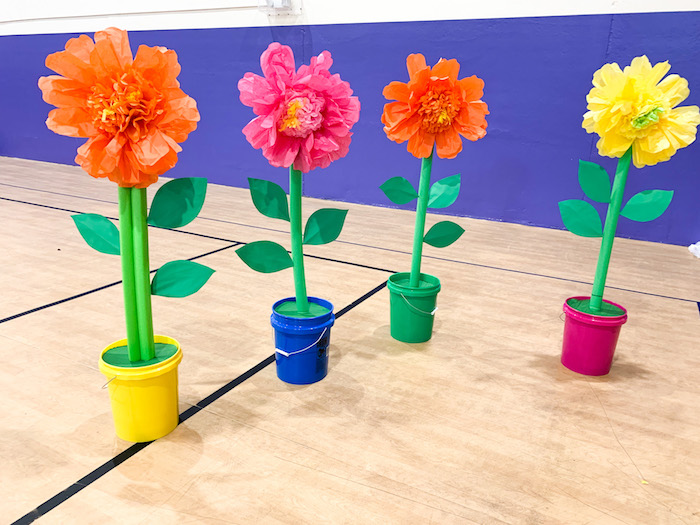 diy pool noodle flowers