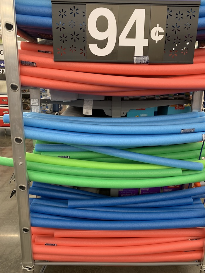 walmart pool noodles