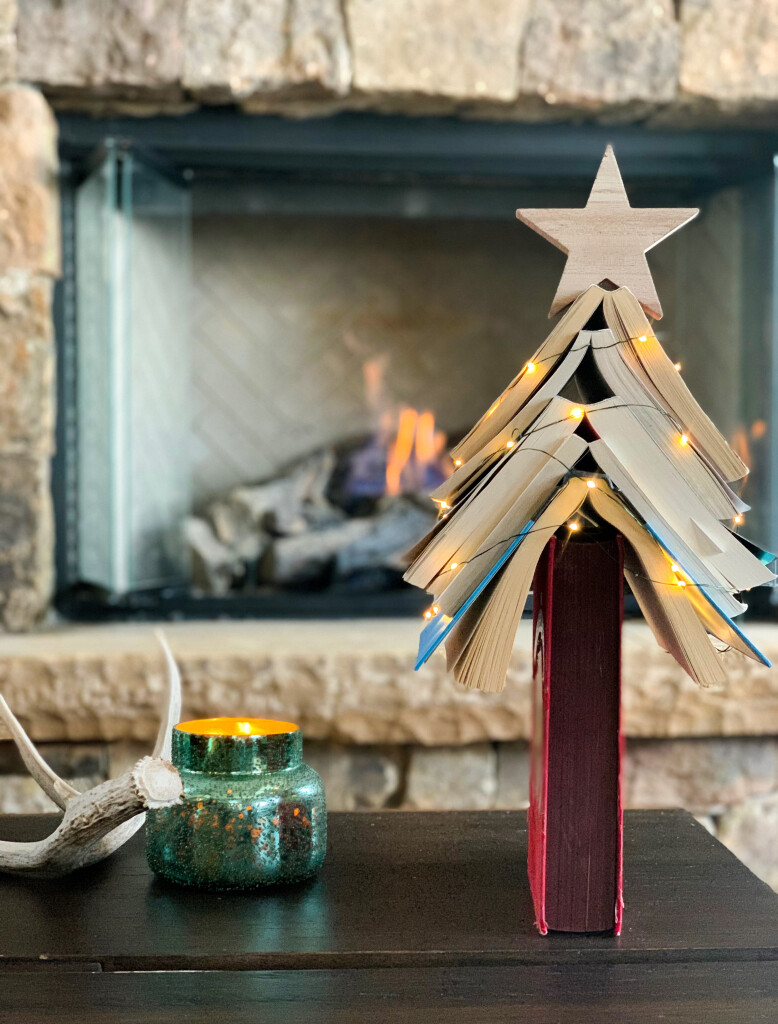 book christmas tree- book gift guide for all ages - book club- top books of 2020