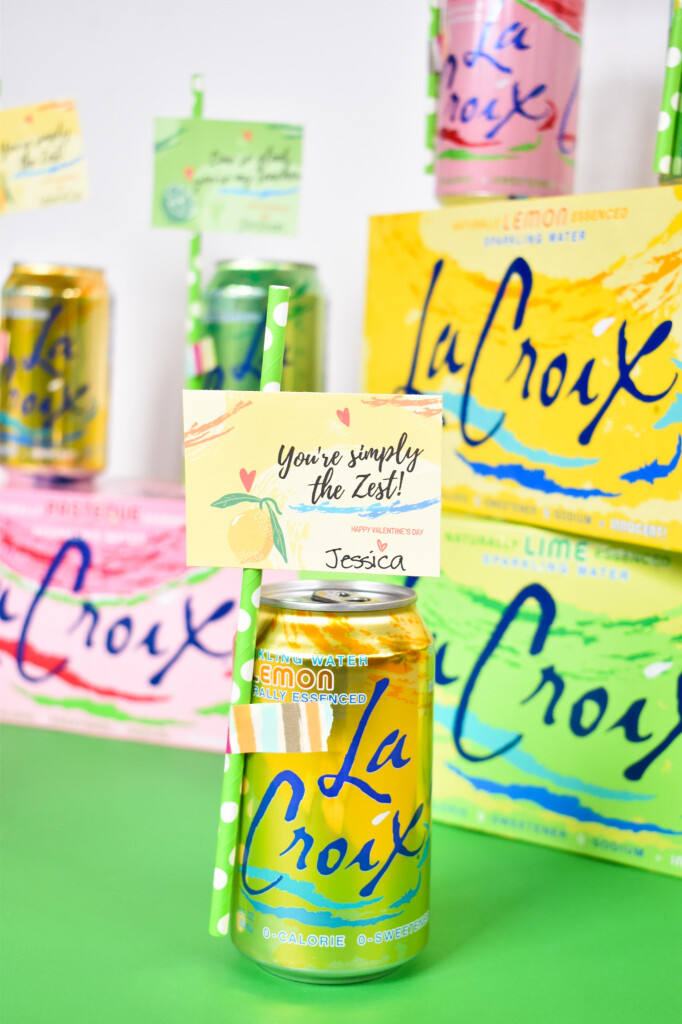 lemon lacroix for valentines day