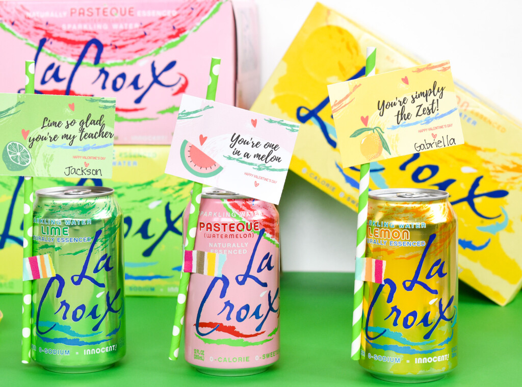 lacroix for valentines day and free printables