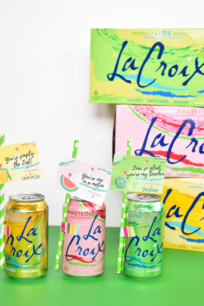 lacroix favors for valentines day and free printables